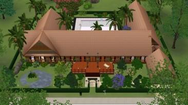 """Sims 3 """"Дом Личный уголок рая"""""""