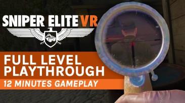 12 минут геймплея Sniper Elite VR