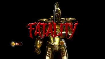 "Mortal Kombat ""Golden cyber scorpion(mesh swap)"""
