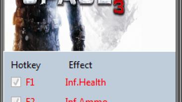 Dead Space 3: Трейнер/Trainer (+4) [1.0.0.1] {MrAntiFun}