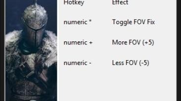 """Dark Souls 2 """"FOV Fix - Фикс позволяющий изменять угол обзора (поле зрения)"""""""