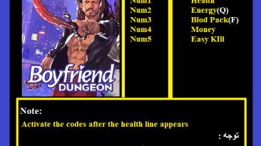 Boyfriend Dungeon: Трейнер/Trainer (+5) [1.0] {Abolfazl.k}