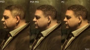 Heavy Rain - PS3 vs PS4 Pro vs PC - сравнение графики