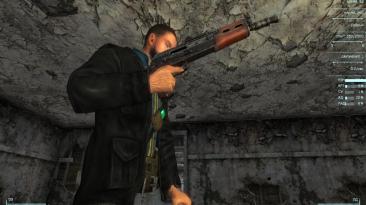 "Fallout 3 ""Заменяет Штурмовую винтовку на АКС-74У"""