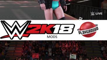 "WWE 2K18 ""Austin Aries MOD"""