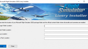 "Microsoft Flight Simulator ""Установщик ливреи"""