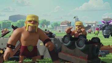 Официальный трейлер Clash of Clans