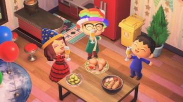 Новогодние подарки в Animal Crossing: New Horizons