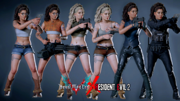 "Resident Evil 2 ""Нико Гольдштейн из DMC"""