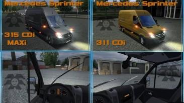 "German Truck Simulator ""Mercedes Sprinter 311"""