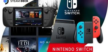 Сравнительное превью Steam Deck и Nintendo Switch