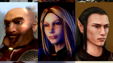 "Baldur's Gate: Enhanced Edition ""NWN2 character pack for BG:EE and IWD2"""