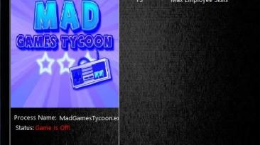 Mad Games Tycoon: Трейнер/Trainer (+3) [0.150416] {MrAntiFun}