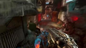 Охотник пытается надрать задницу воину Рока в трейлере DOOM Eternal