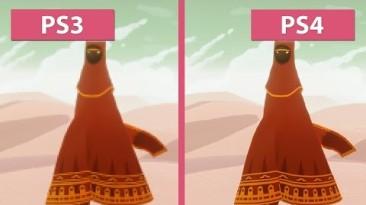 Сравнение графики в Journey - PS3 vs. PS4