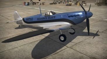 "War Thunder ""Камуфляж на Spitfire Mk2b"""
