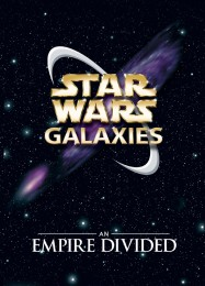 Обложка игры Star Wars Galaxies: An Empire Divided