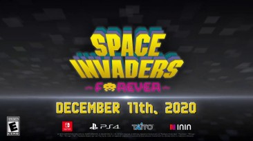 Коллекция Space Invaders выйдет на PS4 и Switch в декабре