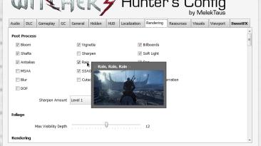 "Witcher 3: Wild Hunt ""[NEW] Witcher 3 Hunter's Config [0.8.0]"""