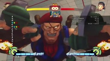 Все комбо Роленто в Street Fighter 4