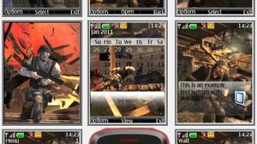 """Breach """"Theme for Nokia s40 240x320"""" by Yurax"""