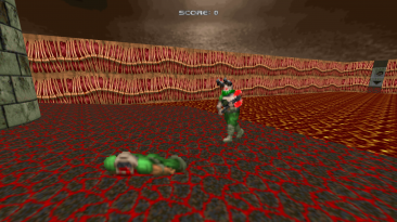 "Doom 2 ""Открытый мир"""