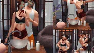 "The Sims 4 ""Пак поз Fun tomorrow"""