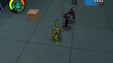 "Teenage Mutant Ninja Turtles 2: Battle Nexus ""Мод на фиолетовых футов/Подчинённого Караи"""