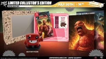 Анонсированы коллекционные издания Super Meat Boy и Super Meat Boy Forever для Nintendo Switch