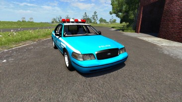 """BeamNG.drive """"Ford Crown Victoria NYPD"""""""