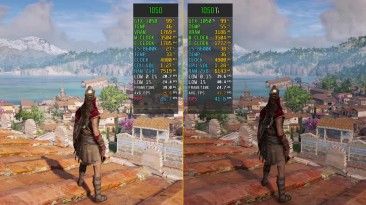 Assassin's Creed Odyssey GTX 1050 vs. GTX 1050 Ti