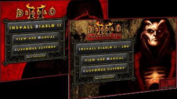 """Diablo 2 """"Blizzard установщик D2 + LoD 1.12a"""""""