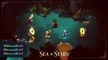 Тизер-трейлер Sea of Stars, демонстрирующий немного боевки