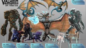 Энтузиаст нарисовал почти всех существ из видеоигры Valheim