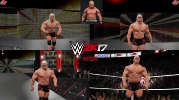 """WWE 2K17 """"Scott Steiner (Лицевая анимация) WWE 2K19 Порт Мод"""""""