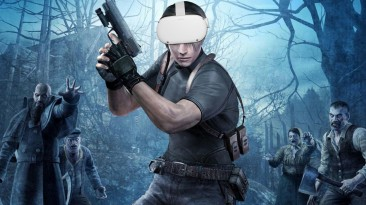 Resident Evil 4 VR: немного нового геймплея из Oculus Gaming Showcase