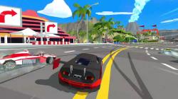 Видео игрового процесса гонок Hotshot Racing