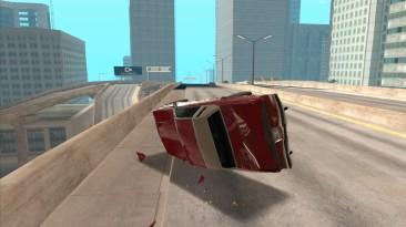 "Grand Theft Auto: San Andreas ""Улучшенная физика автомобильных аварий Fixed"""