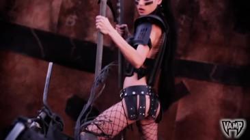 Mad Max - LeeAnna Vamp Road Warrior Косплей