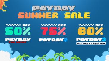 В честь летней распродажи Steam разработчики Payday 2 запустили текстовую адвенчуру