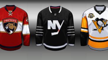 "NHL 09 ""JERSEYS PACK SEASON 2016-17"""