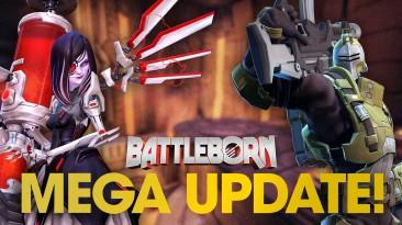 Battleborn - встречайте грандиозное зимнее обновление и поддержку PS4 Pro