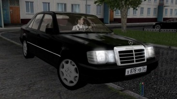 "City Car Driving ""Mercedes-Benz E300 W124 1990 (v1.5.9 - 1.5.9.2)"""