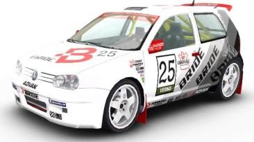 """Colin McRae Rally 04 """"Скин: Volkswagen Golf: Team Bride"""""""