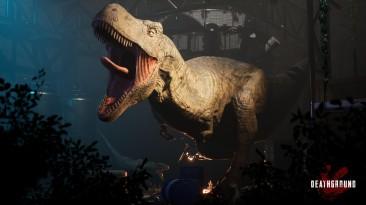 Анонсирована игра Deathground про динозавров, вдохновлённая Alien Isolation
