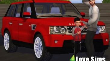"Sims 4 ""Range Rover Sport от Maximss"""