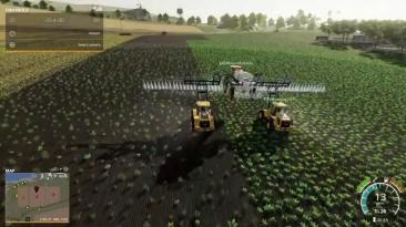 В Farming Simulator 19 добавлен аэроразбрызгиватель