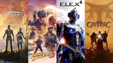 THQ Nordic выпустят Outcast 2, Jagged Alliance 3, Elex II и ремейк Gothic полностью на русском языке