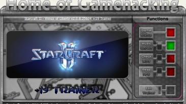 StarCraft 2 - Wings of Liberty: Трейнер/Trainer (+19) [2.0.11.26825] {sILeNt heLLsCrEAm / HoG}