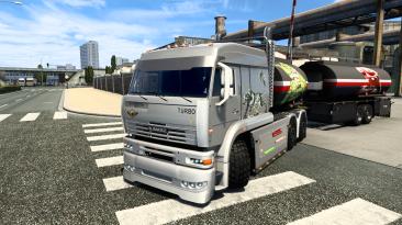 "Euro Truck Simulator 2 ""Камаз 6460 Турбо Дизель V8"""